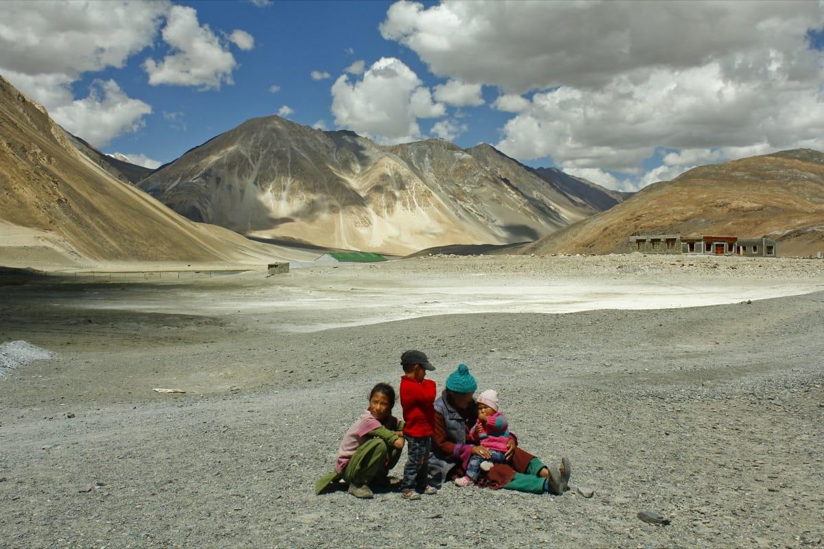 Ladakh remote Himalayas