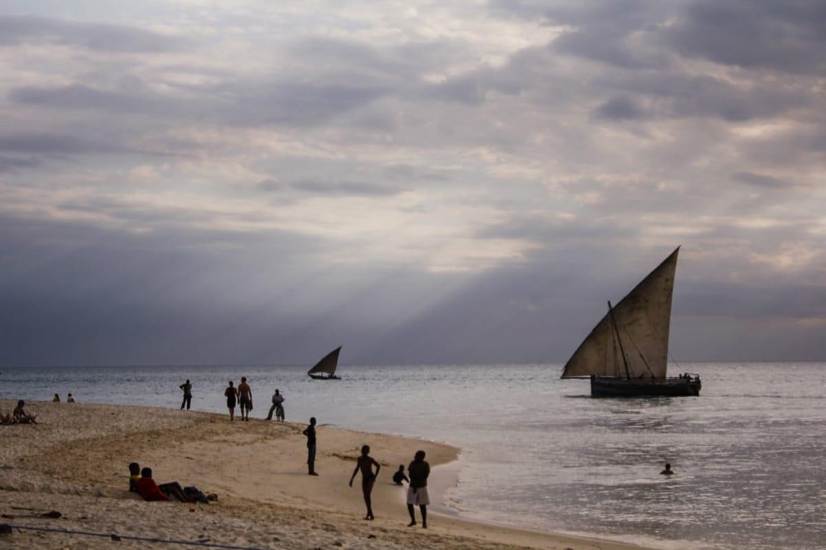 Zanzibar Dhow boats