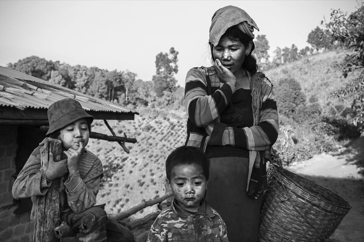 Myanmar family