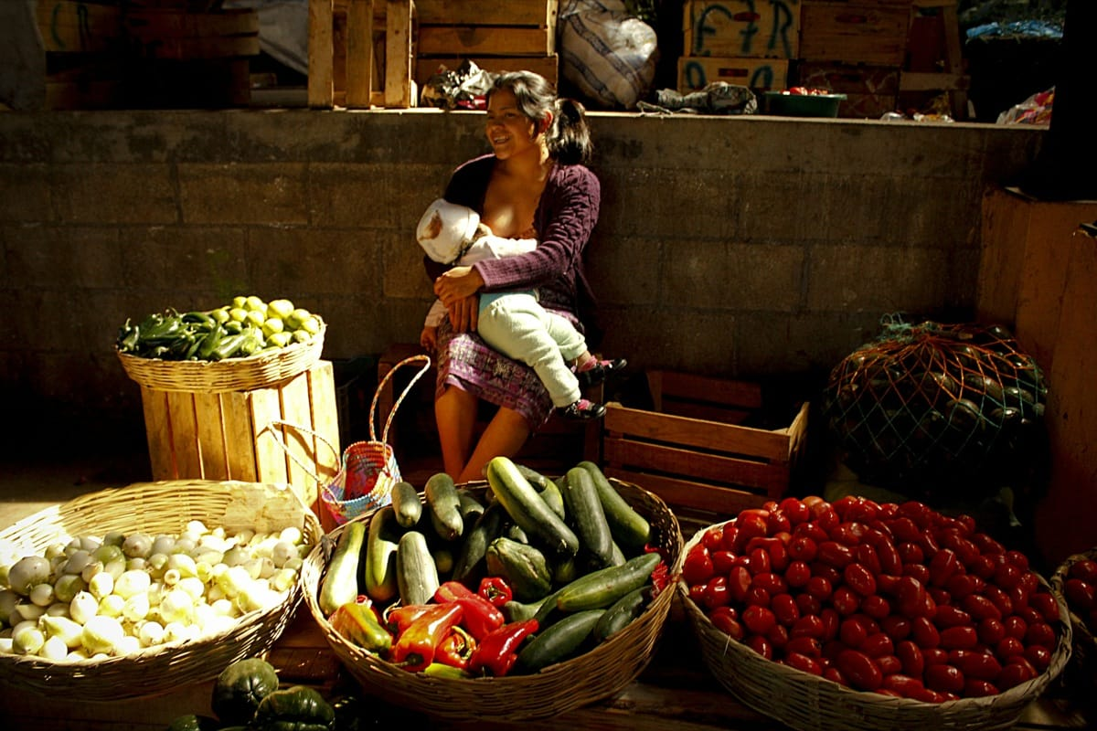 Guatemala breastfeeding