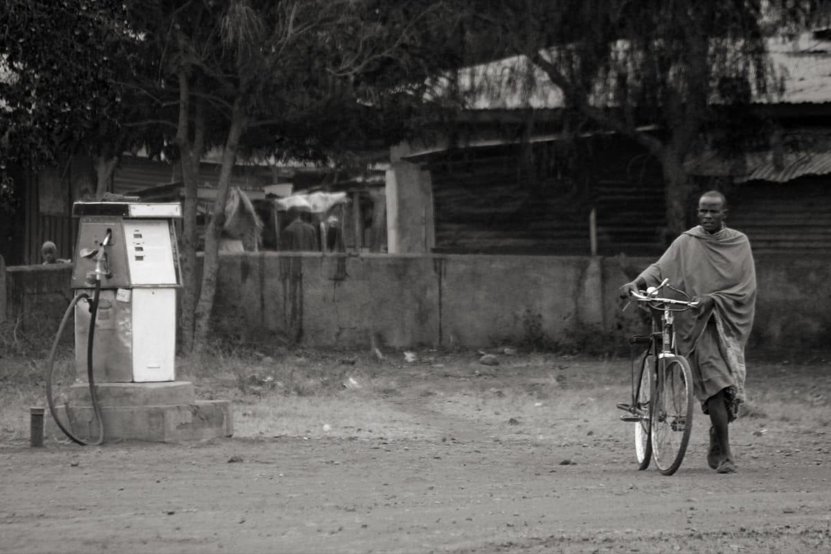 Tanzania fuel station