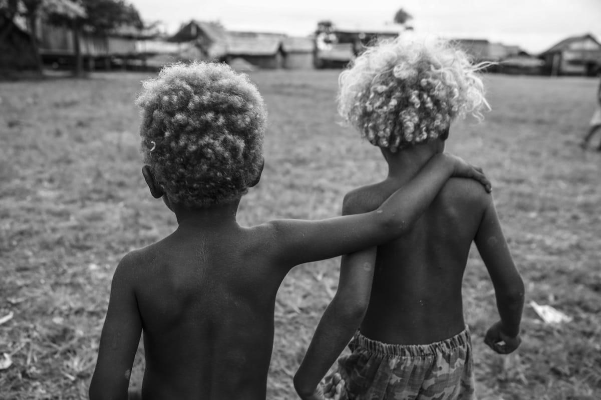 Solomon Islands kids friendship