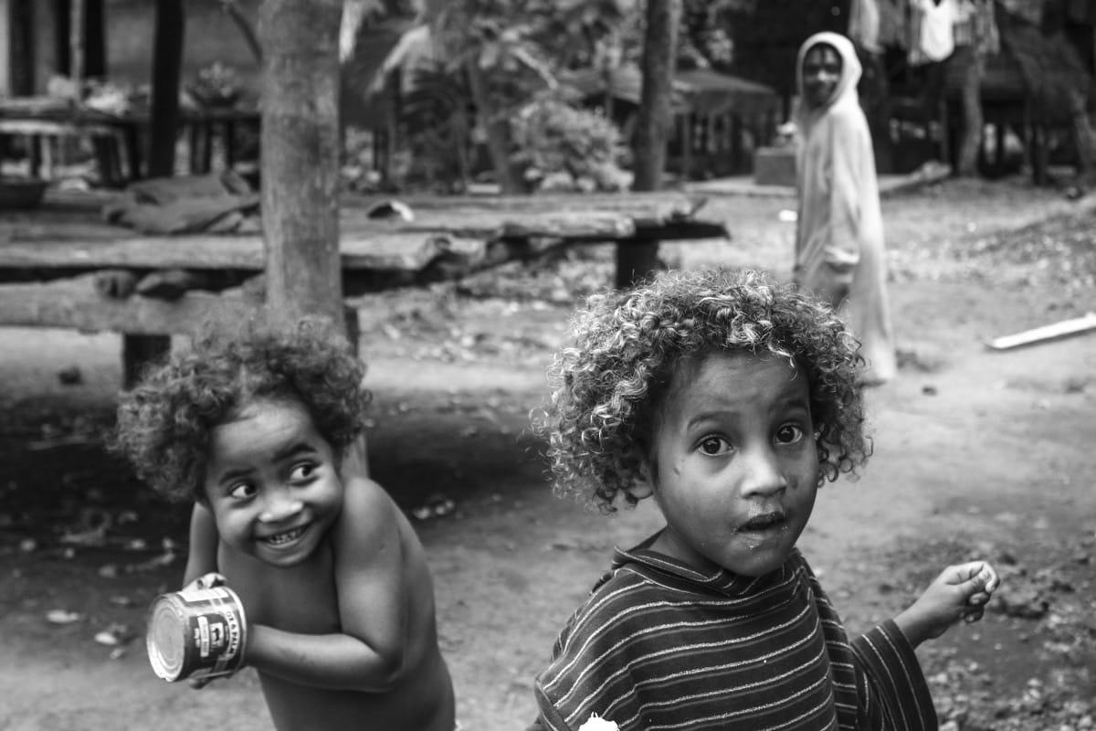 Papua New Guinea kids delicacy Trobriant islands