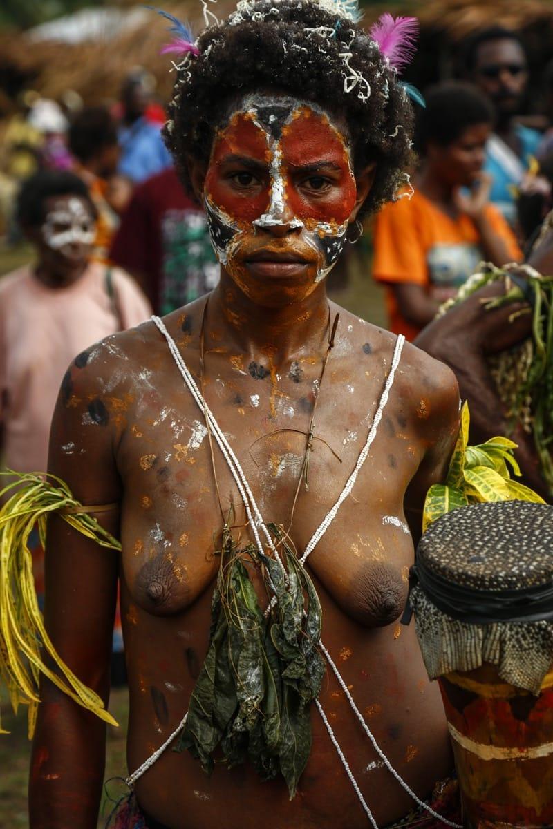 Papua New Guinea crocodile festival
