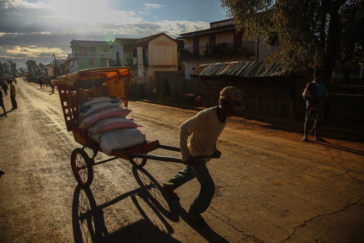 Madagascar hand carriage