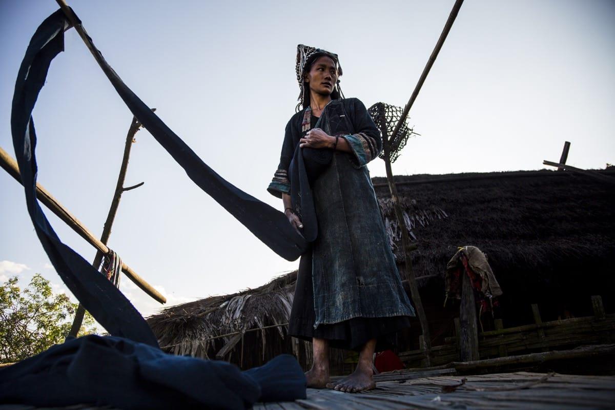 Laos Akha tribe