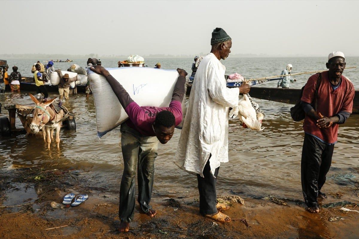 Mali river work