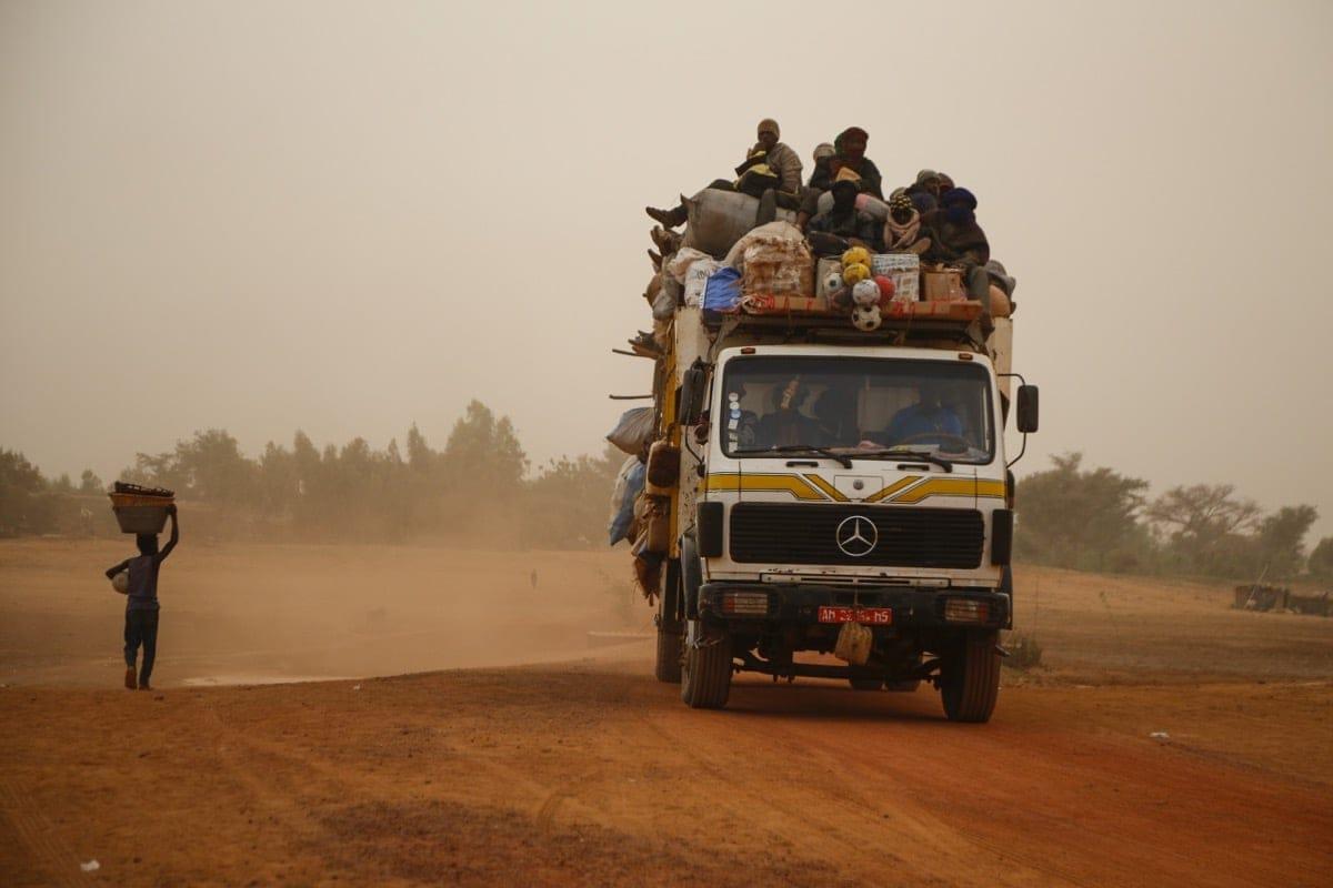Mali Desert truck