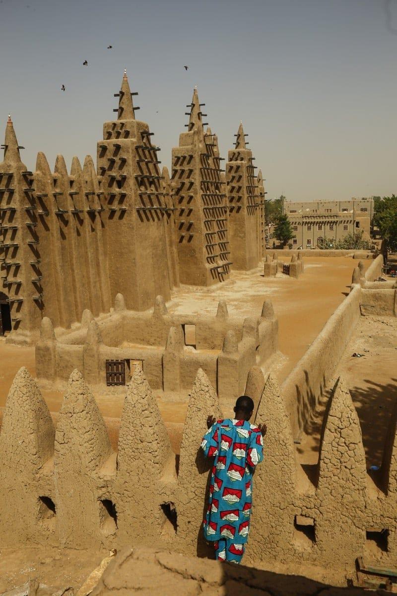 Mali Djenne mosque civil war