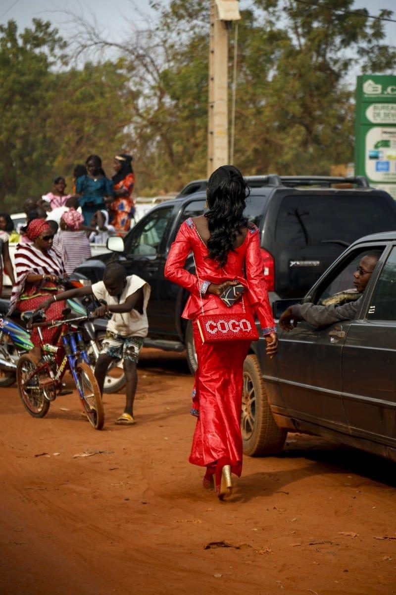 Mali woman class coco chanel