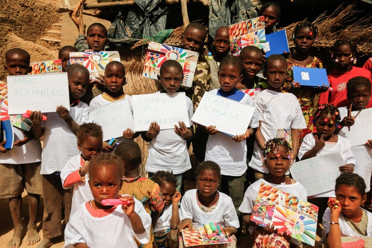 Mali. Adding color to their lives - Trip in Pictures