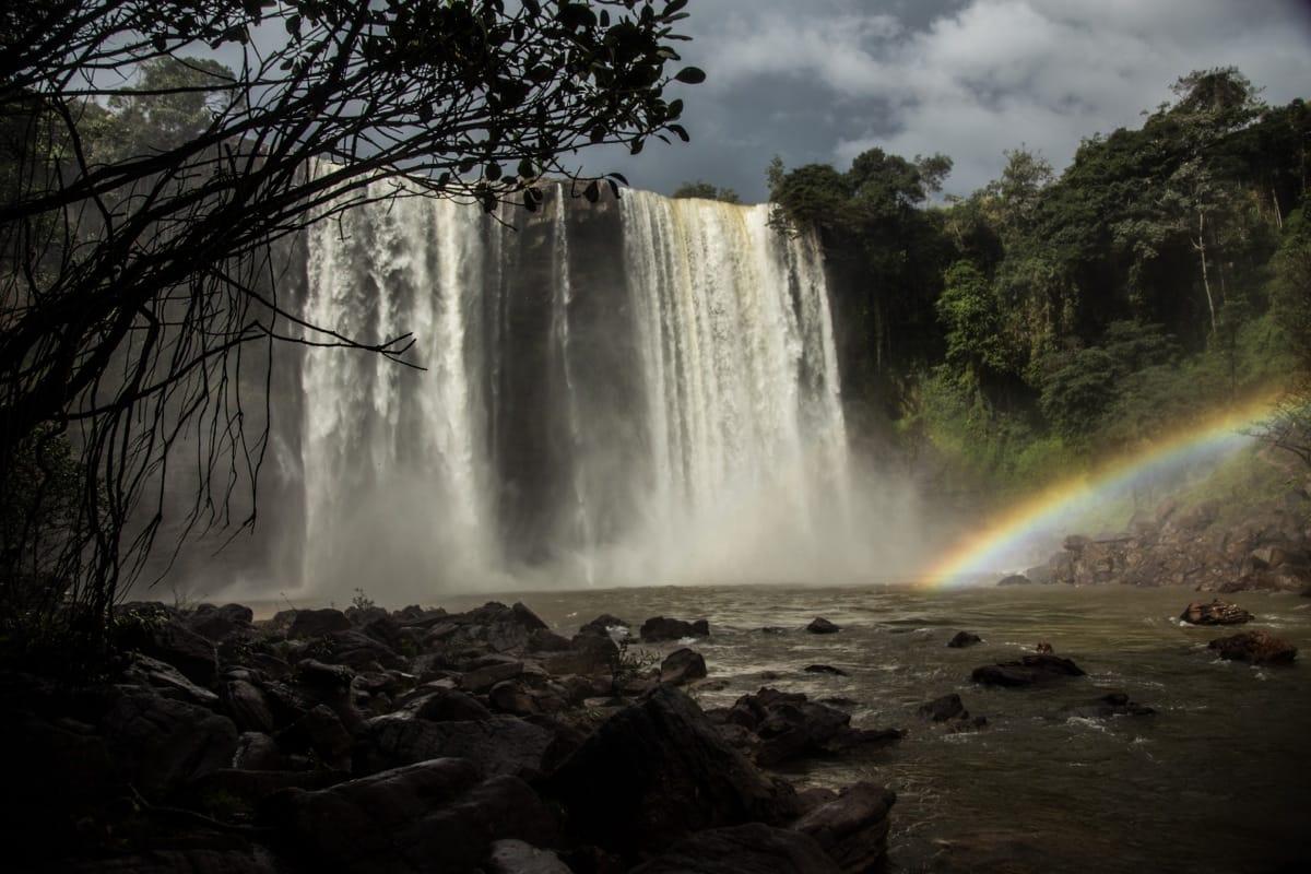 Venezuela waterfall