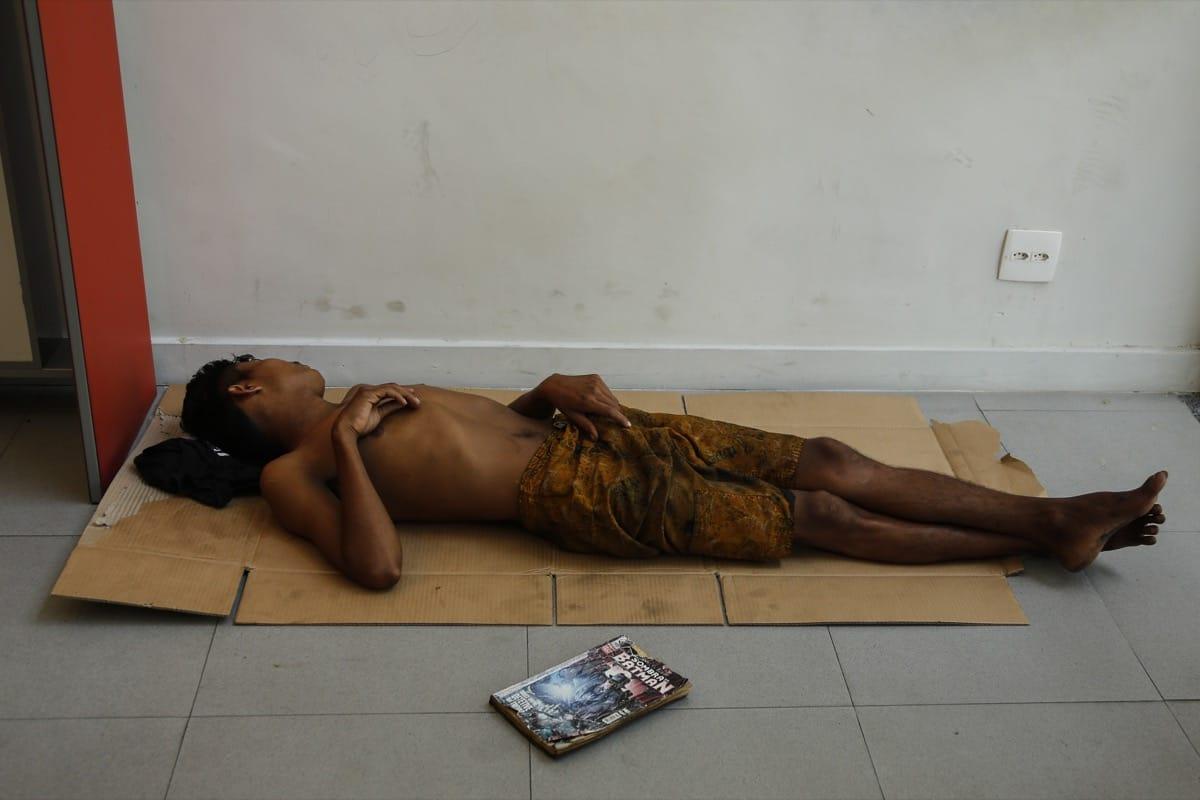 Brazil kid homeless comic book