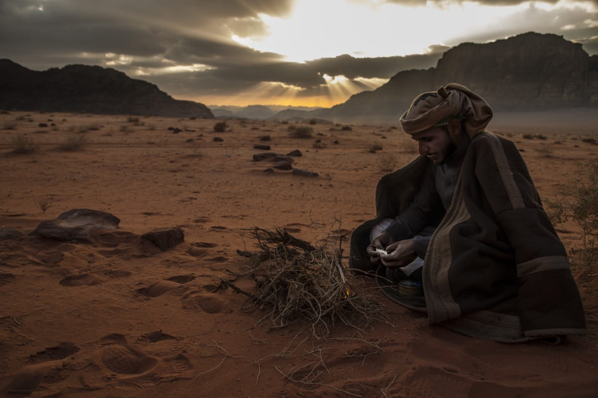 Jordan bedouin Wadi Rum desert