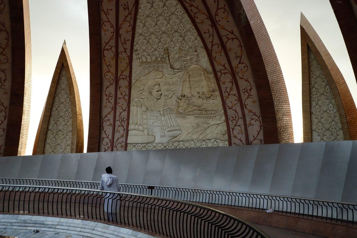 Pakistan monument man