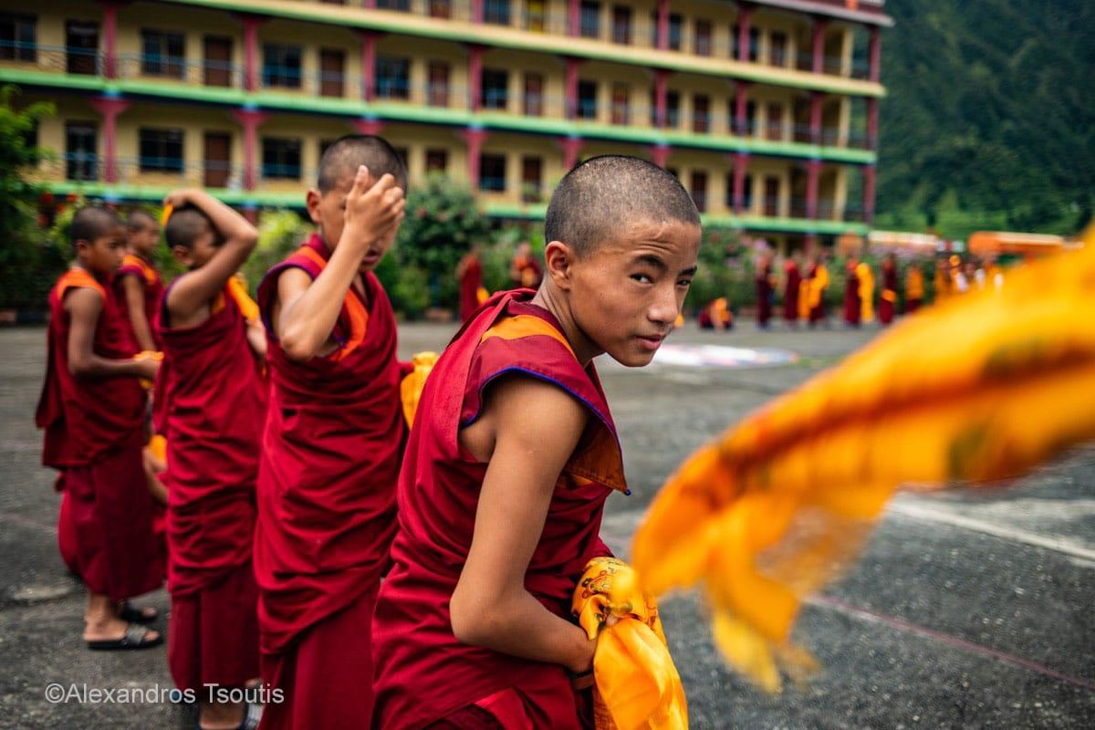 Nepal monks Buddhism