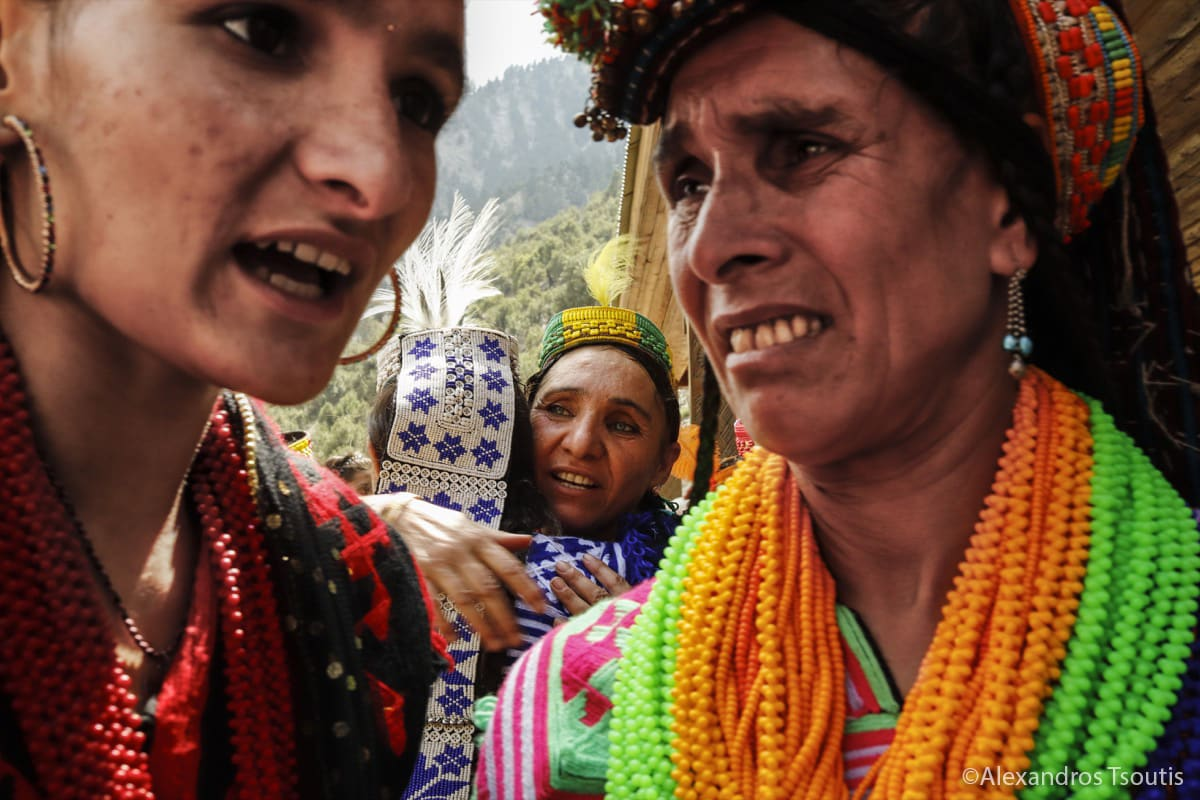 Pakistan Kalash Tribe