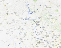 peshawar-lahore_map