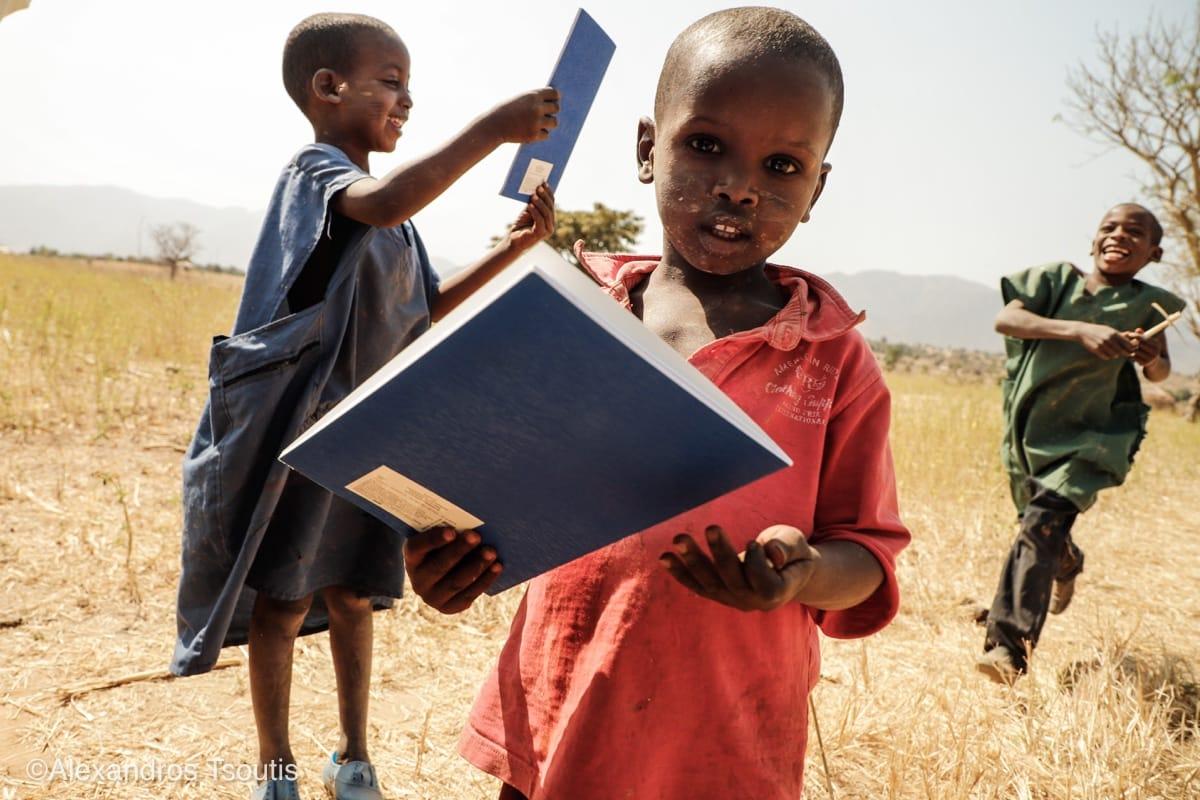 Cameroon kids notepads