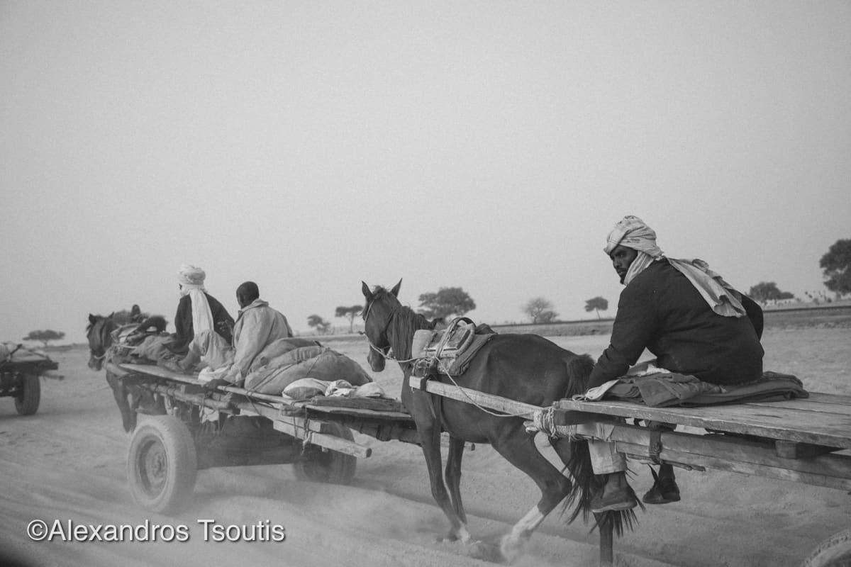 chad horse cart