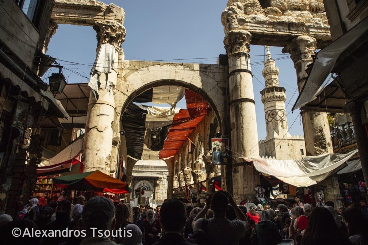 Syria Damascus war