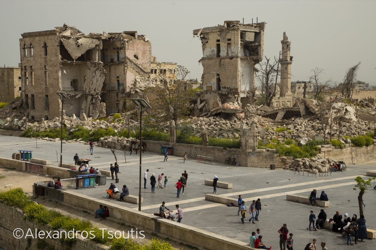 Syria Aleppo war