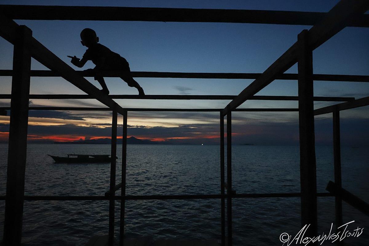 Borneo Bajau sea gypsies