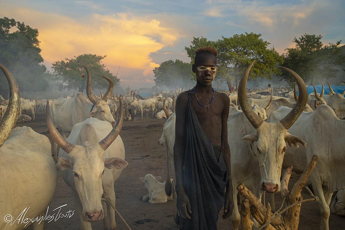 Mundari tribe South Sudan